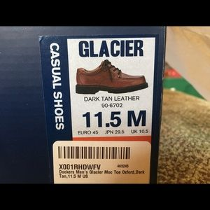 Dockers Leather Glacier Casual Shoes Size 11.5M